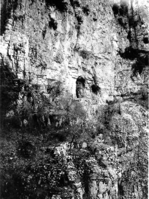 Caves in Vikos Gorge