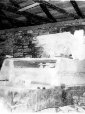 Inside the watermill