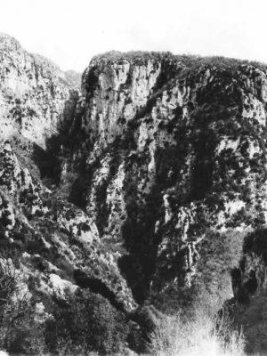 Kriaras spot, view from Agia Paraskevi, Monodendri