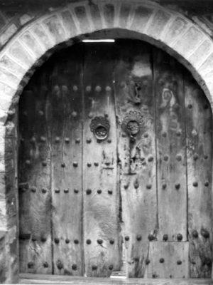 Old frontdoor in Tsepelovo