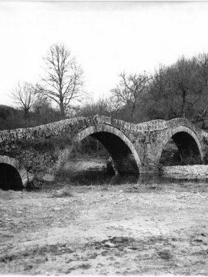 Three arch bridge in Kipi