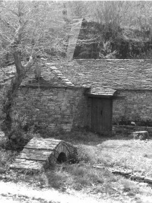 Watermill in Kipi