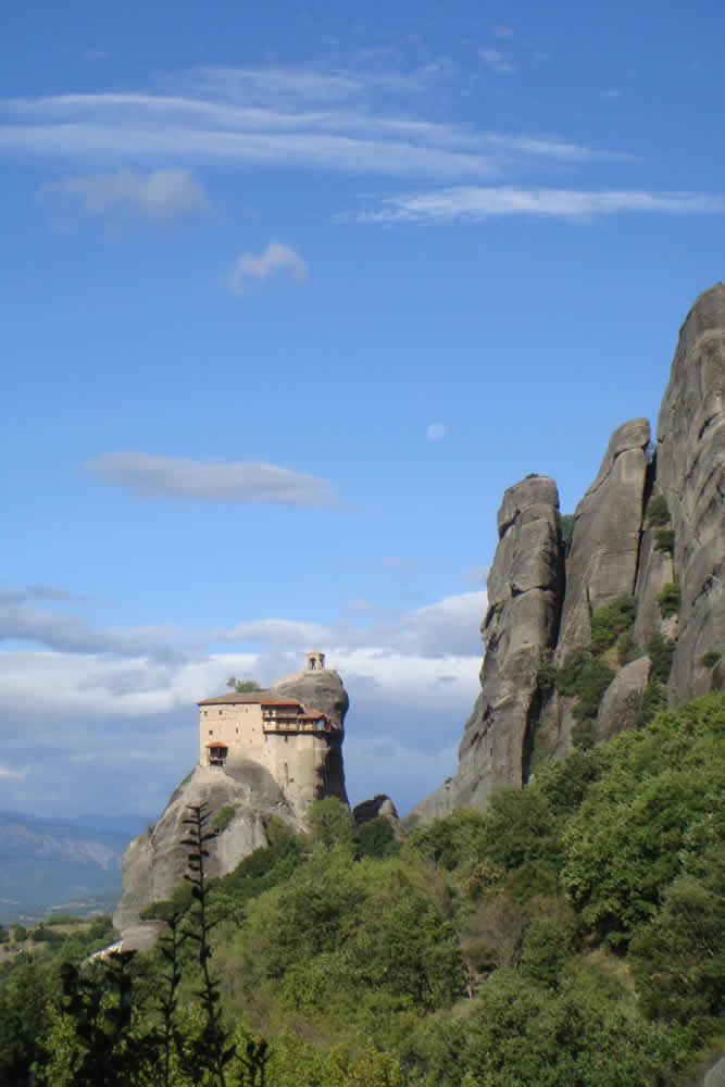Impressive Meteora Monasteries