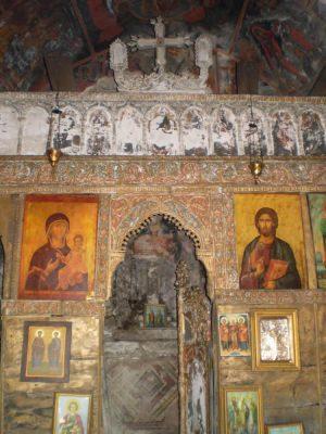 Inside St. Anargyri Monastery