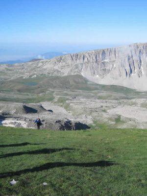 Meadows on Astraka mountain