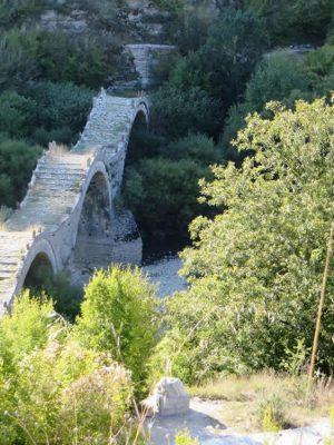 Three arched bridge in Kipi