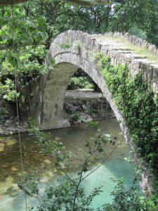 stone arch bridge in zagori