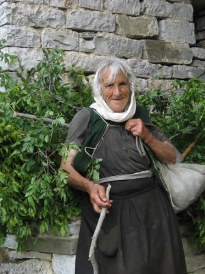 Local woman in Zagori