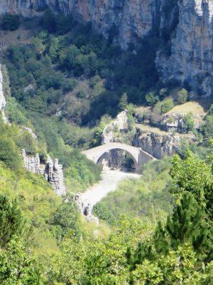 Missiou Bridge from the path to Vitsa