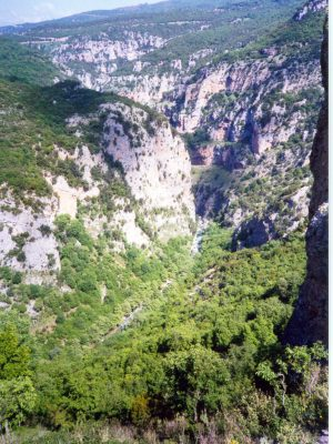 Vikos Gorge From the path to Papigo